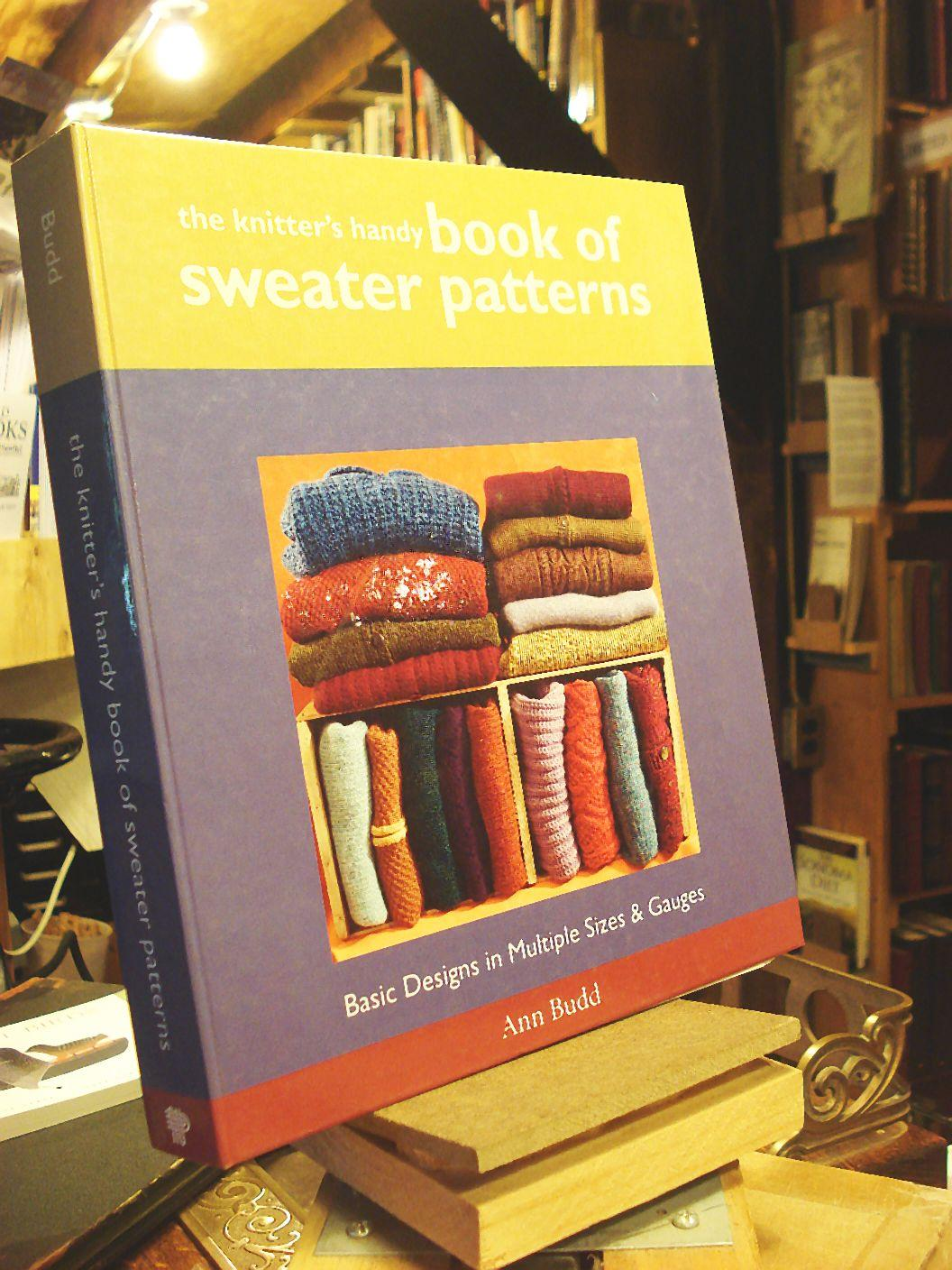 46c974873 The Knitter s Handy Book of Sweater Patterns  Basic Designs in Multiple  Sizes   Gauges