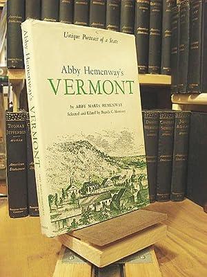 Abby Hemenway's Vermont: Unique Portrait of a: Hemenway, Abby Maria