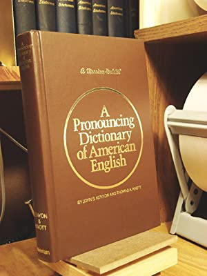 Pronouncing Dictionary of American English