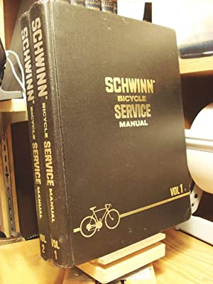 Schwinn Bicycle Service Manual - two volumes