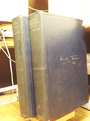 Mark Twain's Autobiography, with an Introduction by Albert Bigelow Paine, in two volumes