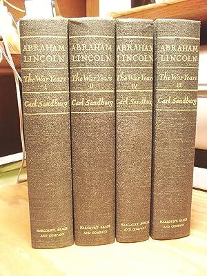 Abraham Lincoln, 4 Vols.: Sandburg, Carl