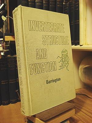 Invertebrate Structure and Function: Barrington, E. J.