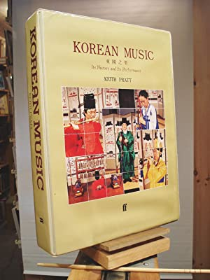 Korean Music: Its History and Its Performance/Book: Keith Pratt
