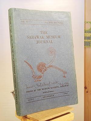 The Sarawak Museum Journal, Volume XI, July