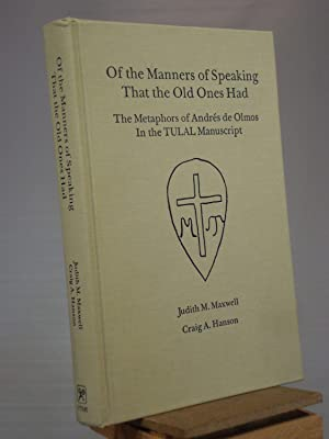 Of the Manners of Speaking That the: Judith M. Maxwell;