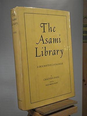 The Asami Library: Chaoying Fang
