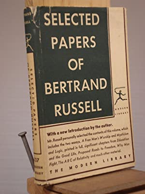 Selected Papers of Bertrand Russell: Bertrand Russell