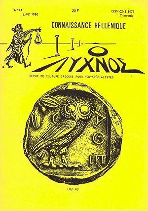 Connaissance hellénique n° 44 Juillet 1990: Collectif