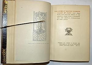 The Poems of Master Francois Villon of Paris: Villon of Paris, Francois