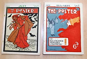 The Poster: An Illustrated Monthly Chronicle, Vol. I, Nos. I-VI: Hiatt, Charles, H. R. Woestyn and ...