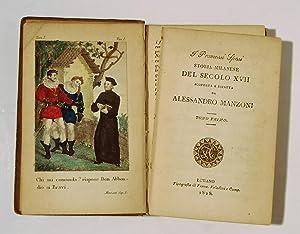 I Promessi Sposi. Storia Milanese del Secolo XVII. [3 Vols; ROSSETTI family copy.]: MANZONI, ...