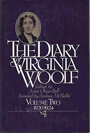 Diary of Virginia Woolf Volume Two 1920-1924: Woolf, Virginia
