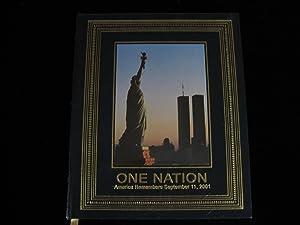 One Nation: America Remembers: Sullivan, Robert, Editor