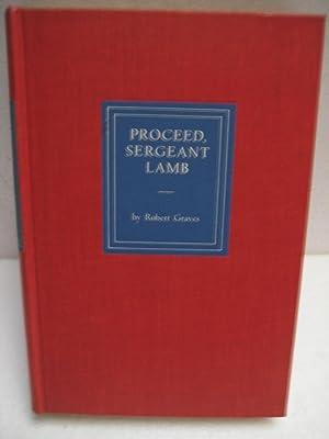 PROCEED, SERGEANT LAMB: Graves, Robert