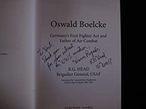 Oswald Boelcke: Germany's First Fighter Ace and Father of Air Combat: Head, R. G.