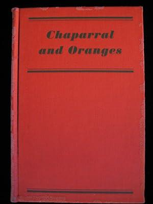 """CHAPARRAL AND ORANGES: Wilson, Joe """"Blackie"""""""