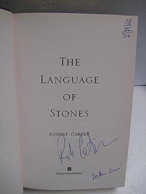 Language of Stones: Carter, Robert