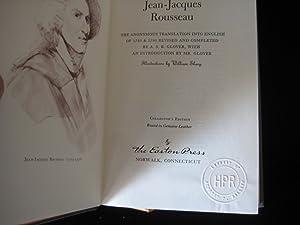 THE CONFESSIONS OF JEAN-JACQUES ROUSSEAU: Rousseau, Jean-Jacques