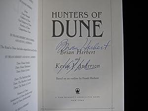 Hunters of Dune: Herbert, Brian and Anderson, Kevin J.;