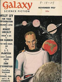 Galaxy Science Fiction Magazine November 1957