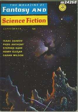 Fantasy and Science Fiction, September 1968