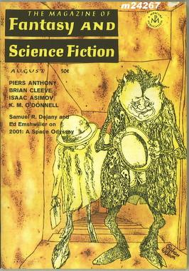 Fantasy and Science Fiction, August 1968