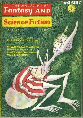 Fantasy and Science Fiction, March 1968