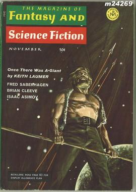 Fantasy and Science Fiction, November 1968