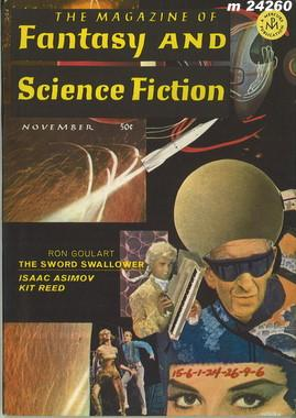 Fantasy and Science Fiction, November 1967