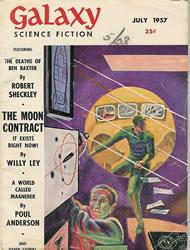 Galaxy Science Fiction, July 1957