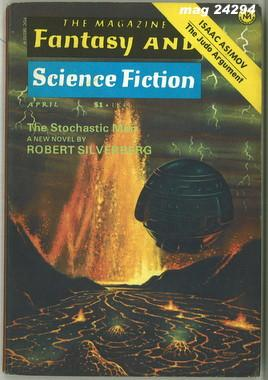 Fantasy and Science Fiction, April 1975