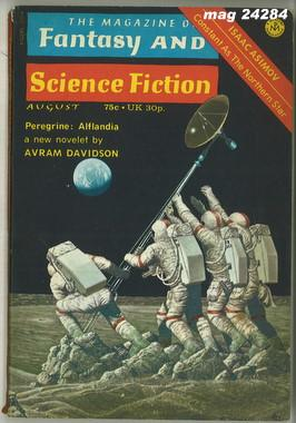 Fantasy and Science Fiction, August 1973