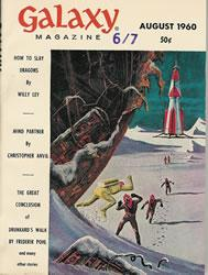 Galaxy Science Fiction, August 1960