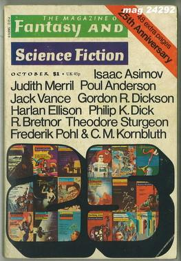 Fantasy and Science Fiction, October 1974