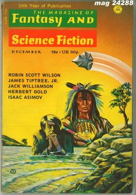 Fantasy and Science Fiction, December 1973