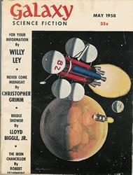 Galaxy Science Fiction, May 1958
