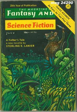 Fantasy and Science Fiction, July 1974