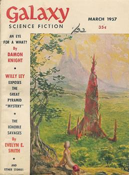 Galaxy Science Fiction, March 1957
