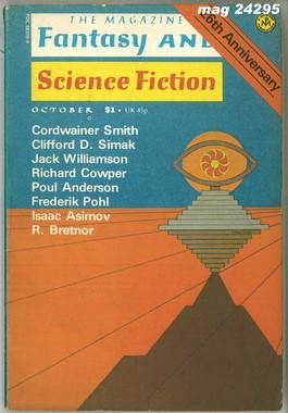 Fantasy and Science Fiction, October 1975