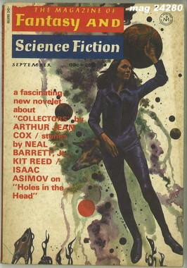 Fantasy and Science Fiction, September 1971
