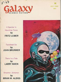 Galaxy Science Fiction, July 1968