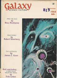 Galaxy Science Fiction, September 1968