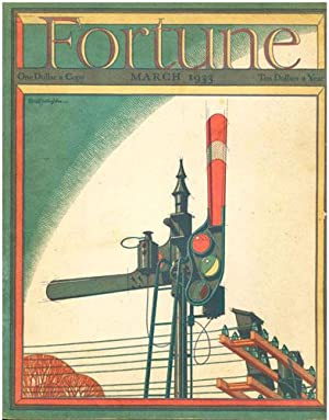 FORTUNE MAGAZINE, MARCH 1933
