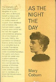 As the Night the Day: Coburn, Mary