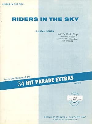Riders in the Sky, from the library of the 34 Hit Parade Extra series