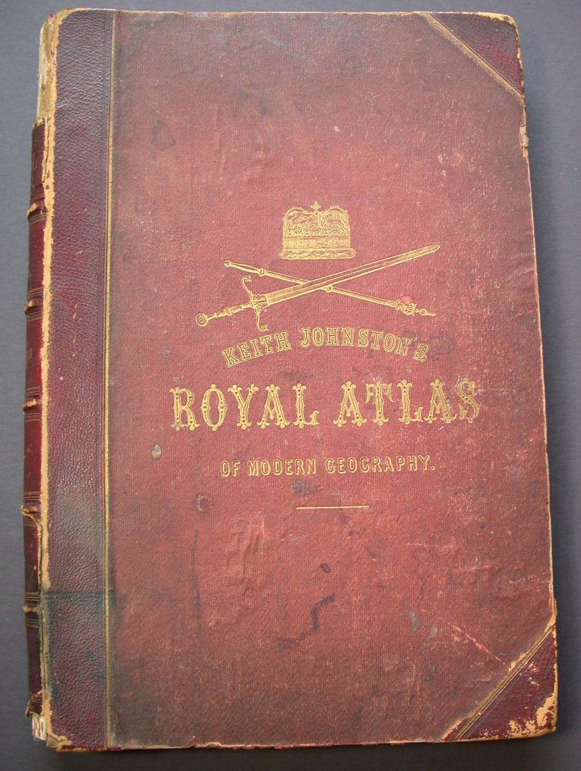 The Royal Atlas of Modern Geography    With
