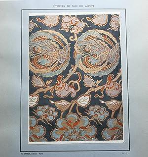 ETOFFES DE SOIE DU JAPON [Silk Fabrics of Japan].: Ernst, Henri.