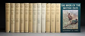 THE BIRDS OF THE BRITISH ISLES.12 volumes.