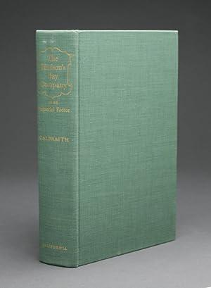 THE HUDSON'S BAY COMPANY AS AN IMPERIAL: Galbraith, John S.